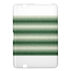 Horizontal Dark Green Curly Stripes Kindle Fire Hd 8 9  Hardshell Case by BestCustomGiftsForYou