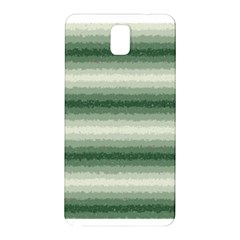 Horizontal Dark Green Curly Stripes Samsung Galaxy Note 3 N9005 Hardshell Back Case