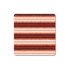Horizontal Native American Curly Stripes   1 Magnet (square) by BestCustomGiftsForYou
