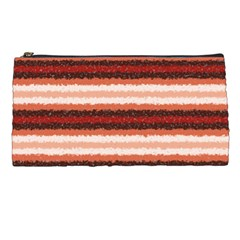 Horizontal Native American Curly Stripes   1 Pencil Case by BestCustomGiftsForYou