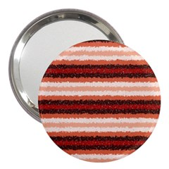 Horizontal Native American Curly Stripes   1 3  Handbag Mirror by BestCustomGiftsForYou