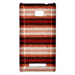 Horizontal Native American Curly Stripes - 1 HTC 8X Hardshell Case by BestCustomGiftsForYou