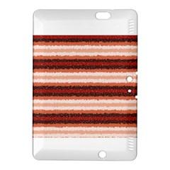 Horizontal Native American Curly Stripes   1 Kindle Fire Hdx 8 9  Hardshell Case by BestCustomGiftsForYou
