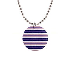 Horizontal Native American Curly Stripes   2 Button Necklace by BestCustomGiftsForYou