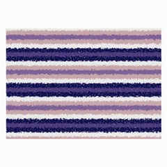 Horizontal Native American Curly Stripes - 2 Glasses Cloth (Large) by BestCustomGiftsForYou