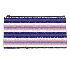 Horizontal Native American Curly Stripes   2 Pencil Case by BestCustomGiftsForYou