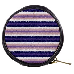 Horizontal Native American Curly Stripes   2 Mini Makeup Case