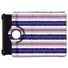 Horizontal Native American Curly Stripes   2 Kindle Fire Hd Flip 360 Case by BestCustomGiftsForYou