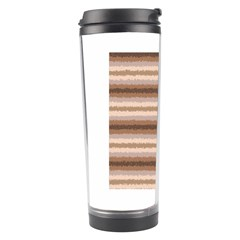 Horizontal Native American Curly Stripes   3 Travel Tumbler by BestCustomGiftsForYou
