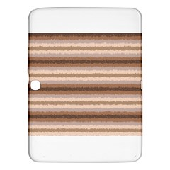 Horizontal Native American Curly Stripes   3 Samsung Galaxy Tab 3 (10 1 ) P5200 Hardshell Case  by BestCustomGiftsForYou