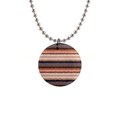Horizontal Native American Curly Stripes   4 Button Necklace by BestCustomGiftsForYou