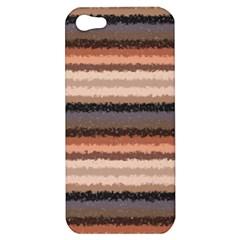Horizontal Native American Curly Stripes   4 Apple Iphone 5 Hardshell Case by BestCustomGiftsForYou