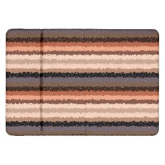 Horizontal Native American Curly Stripes   4 Samsung Galaxy Tab 8 9  P7300 Flip Case by BestCustomGiftsForYou