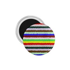 Horizontal Vivid Colors Curly Stripes   2 1 75  Button Magnet by BestCustomGiftsForYou
