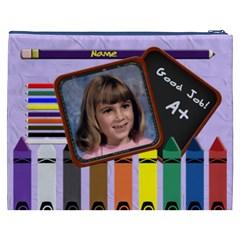 School Pencil Cosmetic Bag Xxxl By Chere s Creations   Cosmetic Bag (xxxl)   T74diqqxu2yz   Www Artscow Com Back