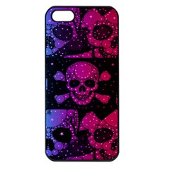 Skull&bones Pop Apple Iphone 5 Seamless Case (black) by OCDesignss