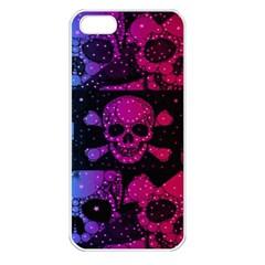 Skull&bones Pop Apple Iphone 5 Seamless Case (white) by OCDesignss