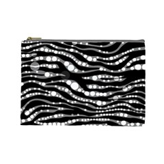 Zebra Pattern  Cosmetic Bag (large) by OCDesignss