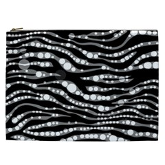 Zebra Pattern  Cosmetic Bag (xxl) by OCDesignss