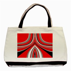 Fantasy Twin-sided Black Tote Bag by Siebenhuehner