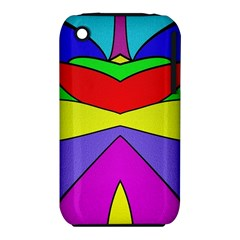 Abstract Apple Iphone 3g/3gs Hardshell Case (pc+silicone) by Siebenhuehner