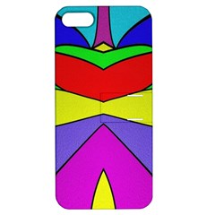 Abstract Apple Iphone 5 Hardshell Case With Stand by Siebenhuehner
