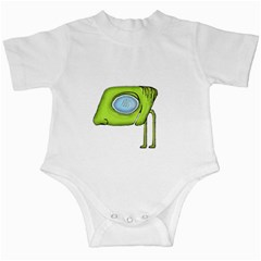 Funny Alien Monster Character Infant Bodysuit by dflcprints