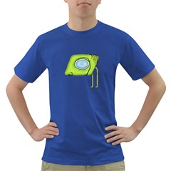 Funny Alien Monster Character Men s T Shirt (colored) by dflcprints