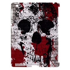 Skull Grunge Graffiti  Apple Ipad 3/4 Hardshell Case (compatible With Smart Cover) by OCDesignss