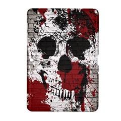 Skull Grunge Graffiti  Samsung Galaxy Tab 2 (10 1 ) P5100 Hardshell Case  by OCDesignss