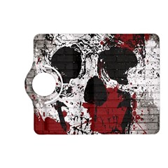 Skull Grunge Graffiti  Kindle Fire Hd (2013) Flip 360 Case by OCDesignss