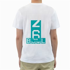 Heat Names And Numbers Bowl By Margaret   Men s T Shirt (white) (two Sided)   2du6mcmdai4f   Www Artscow Com Back