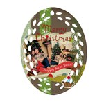 xmas - Ornament (Oval Filigree)