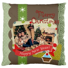 Xmas By Xmas   Large Cushion Case (two Sides)   L6r1yhu7el90   Www Artscow Com Back