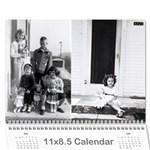 calendar rileys fav pix - Wall Calendar 11  x 8.5  (18 Months)