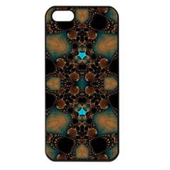 Elegant Caramel  Apple Iphone 5 Seamless Case (black) by OCDesignss