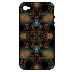 Elegant Caramel  Apple Iphone 4/4s Hardshell Case (pc+silicone) by OCDesignss