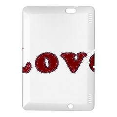 Love Typography Text Word Kindle Fire Hdx 8 9  Hardshell Case