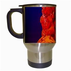 Organic Meditation Travel Mug (white) by icarusismartdesigns