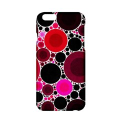 Retro Polka Dot  Apple Iphone 6 Hardshell Case by OCDesignss