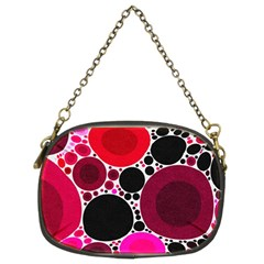 Retro Polka Dot  Chain Purse (two Sided)