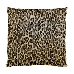 Chocolate Leopard  Cushion Case (single Sided)  by OCDesignss