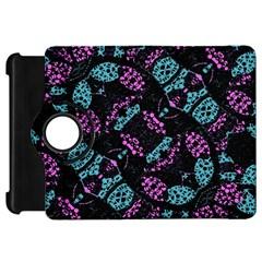 Ornate Dark Pattern  Kindle Fire Hd Flip 360 Case by dflcprints