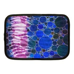 Crazy Zebra  Netbook Sleeve (medium) by OCDesignss