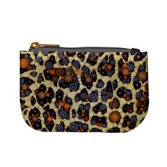 Cheetah Abstract Coin Change Purse by OCDesignss