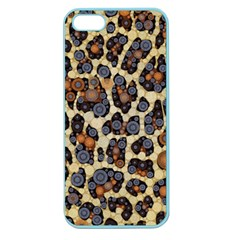 Cheetah Abstract Apple Seamless Iphone 5 Case (color) by OCDesignss