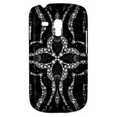 Black Onyx  Samsung Galaxy S3 Mini I8190 Hardshell Case by OCDesignss
