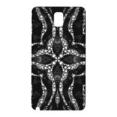 Black Onyx  Samsung Galaxy Note 3 N9005 Hardshell Back Case by OCDesignss