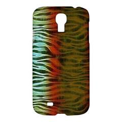 Earthy Zebra Samsung Galaxy S4 I9500/i9505 Hardshell Case by OCDesignss