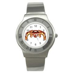 Alien Spider Stainless Steel Watch (slim) by dflcprints